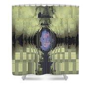 Riven Shower Curtain