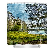 River 2 Hdr Shower Curtain