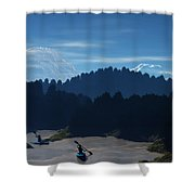 River Adventure Shower Curtain