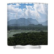 River And Riverboat... Shower Curtain