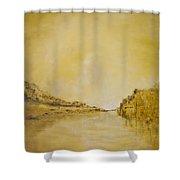 River Bank Slumber Shower Curtain