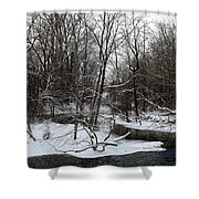 River Bends Shower Curtain
