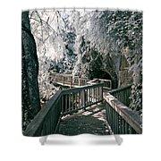 River Boardwalk Shower Curtain