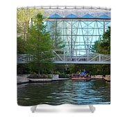 River Boating  Shower Curtain
