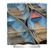 River Boats Shower Curtain