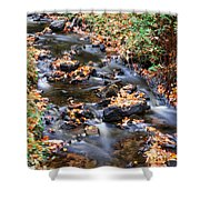 River Cascades Shower Curtain
