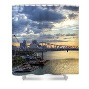River City - D008587 Shower Curtain