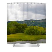 River Course At Alisal Solvang California 6 Shower Curtain