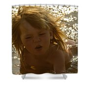 River Dip Shower Curtain