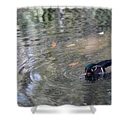 River Duck Shower Curtain
