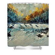 River Fall Shower Curtain