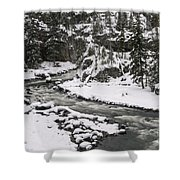 River Flow One Shower Curtain