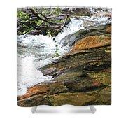 River Flow Shower Curtain