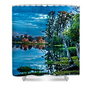 River Hdr Shower Curtain