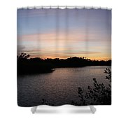 River In The Eveninglight - Sanibel Island Shower Curtain