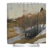 River Kordonka Shower Curtain