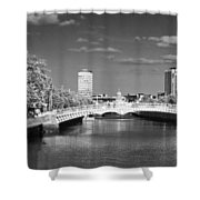 River Liffey - Dublin Shower Curtain
