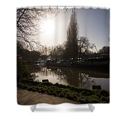 River Medway In Kent Shower Curtain