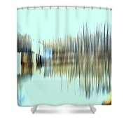River Mill 2 Shower Curtain
