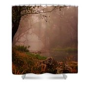 River Mist On A Mystical Morning Shower Curtain