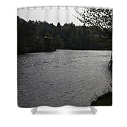 River Ness Near The Ness Islands In Inverness In Scotland Shower Curtain