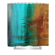 River Of Desire 21 By Madart Shower Curtain