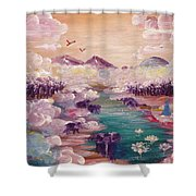 River Of Light Shower Curtain