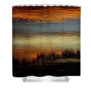 River Of Sky Shower Curtain