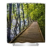 River Of Souls Shower Curtain