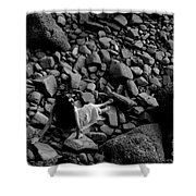 River Of The Stones  Shower Curtain