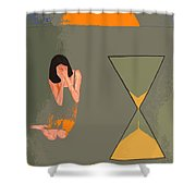 River Of Time Shower Curtain