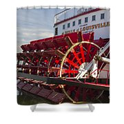 River Paddle Steamer Shower Curtain