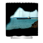 River Princess Shower Curtain