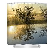 River Rays Shower Curtain