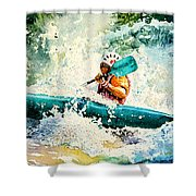 River Rocket Shower Curtain