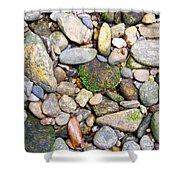 River Rocks 2 Shower Curtain
