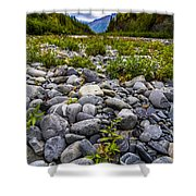 River Side Shower Curtain
