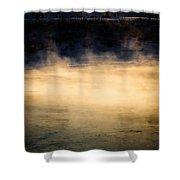 River Smoke Shower Curtain