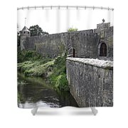 River Suir And Cahir Castle Shower Curtain