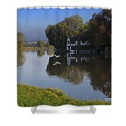River Thames At Cookham Shower Curtain