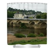 River Vienne - France Shower Curtain