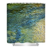 River Water 1 Shower Curtain