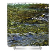 River Water 2 Shower Curtain