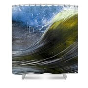 River Wave Shower Curtain