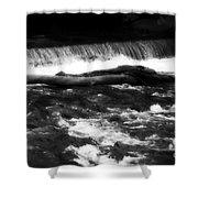 River Wye - England Shower Curtain