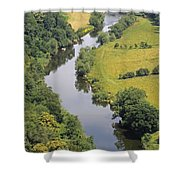 River Wye Shower Curtain