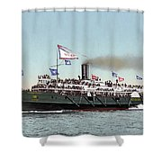 Riverboat, C1900 Shower Curtain