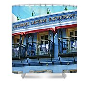 Riverboat Landing 0769 Shower Curtain