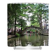 Riverboat View Shower Curtain