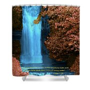 Rivers Of Living Water Shower Curtain